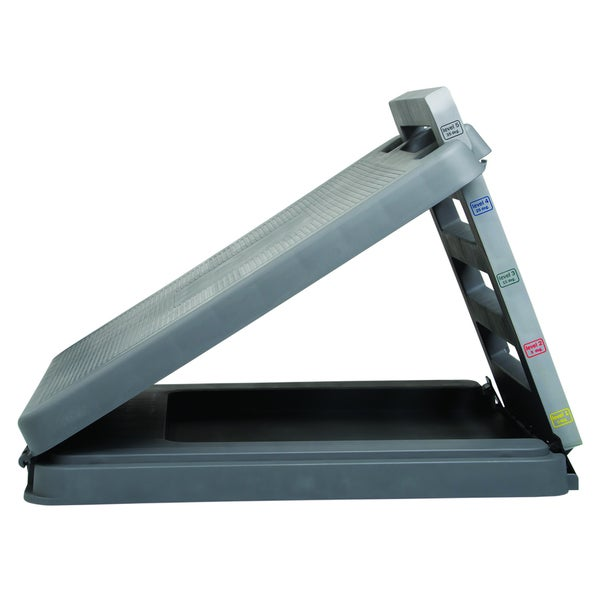 Heavy Duty Plastic Incline Board with 10 to 30-degree Elevation (14 x 14 inches)
