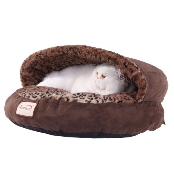 Armarkat Faux Suede Cat Bed