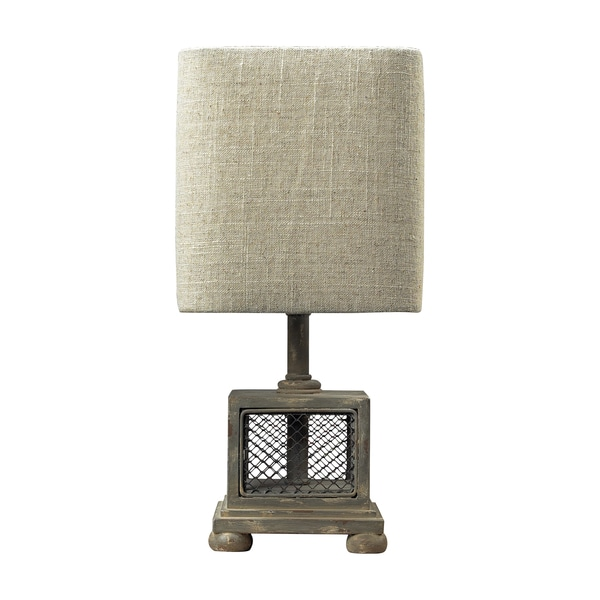 Dimond Lighting 1-light Montauk Grey Table Lamp