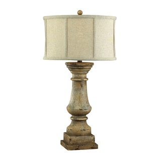 Dimond Lighting 1-light Monkstown Distressed Beige Table Lamp
