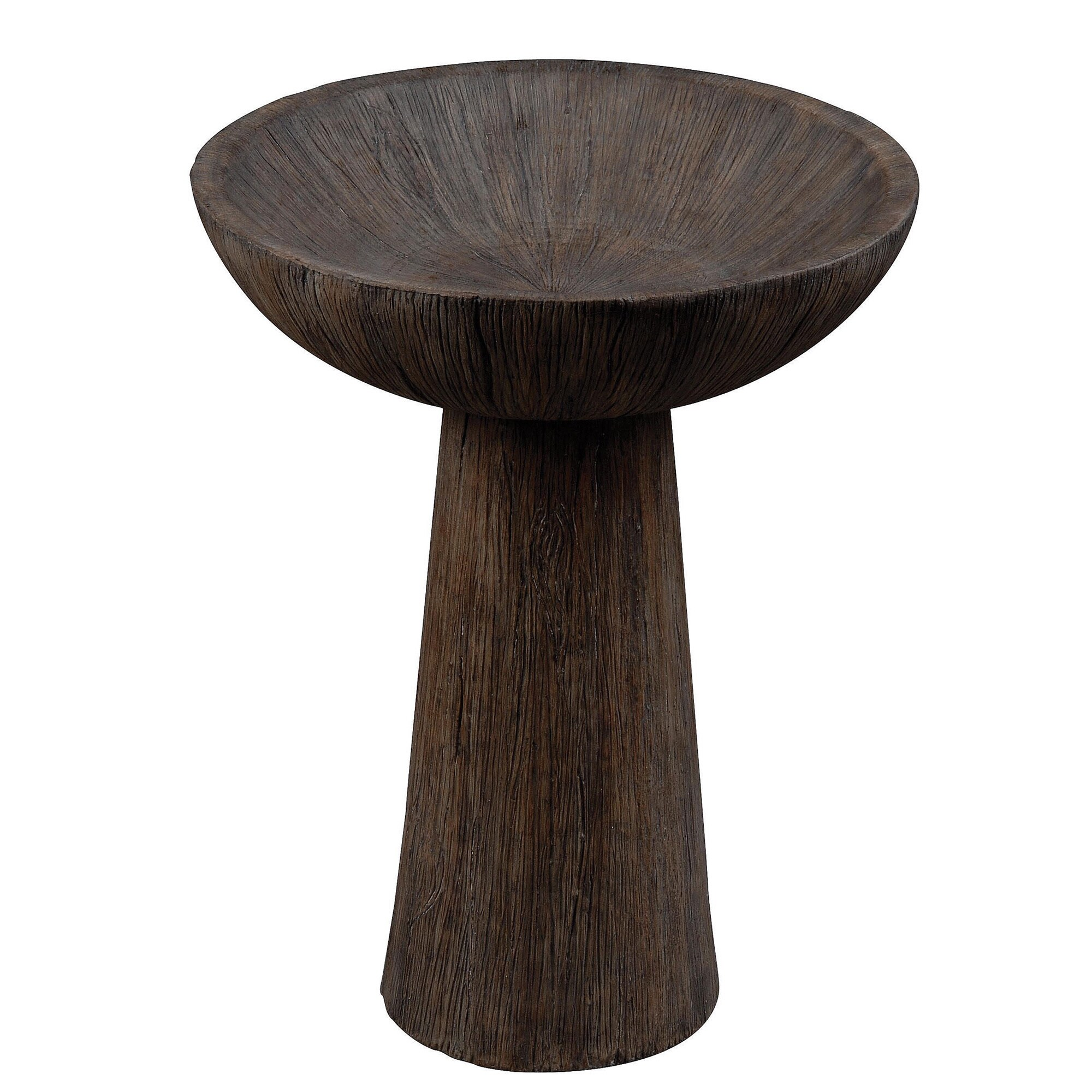 Design Craft Abigial 22 Inch High With Driftwood Finish O...