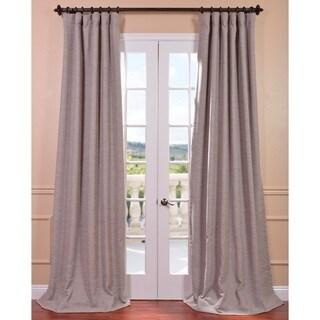 Exclusive Fabrics Parisian Taupe Bellino Blackout Curtain Panel
