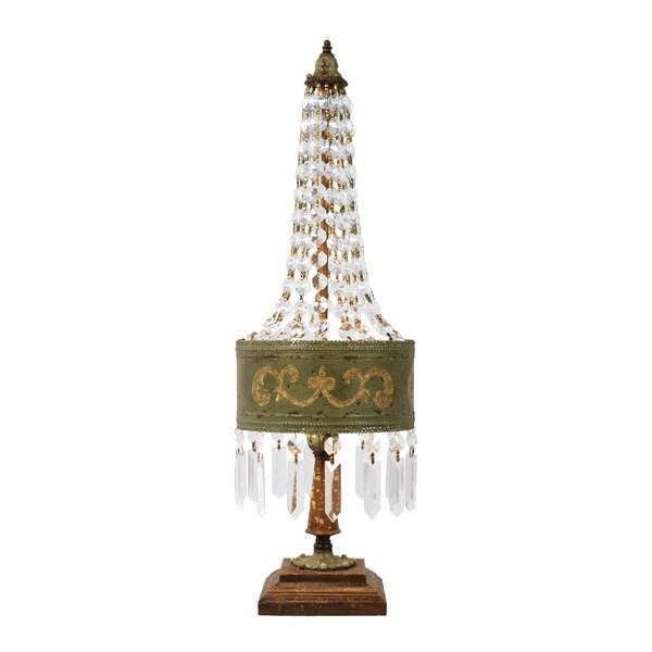 Dimond Lighting 2-light Parisian Moss Finish Table Lamp