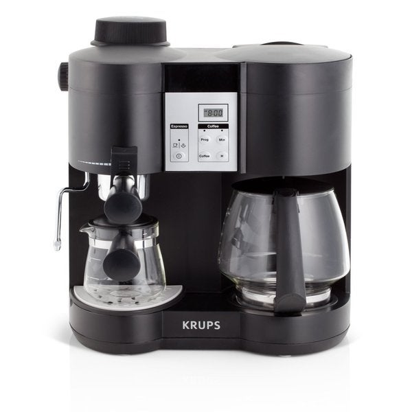 Krups Black Xp160050 Coffee Maker And Espresso Machine