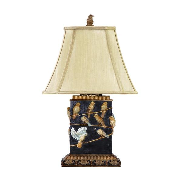 Dimond Lighting West Riding Black 1-light Table Lamp