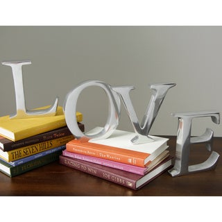 Solid Aluminum 6-inch Decorating Letter