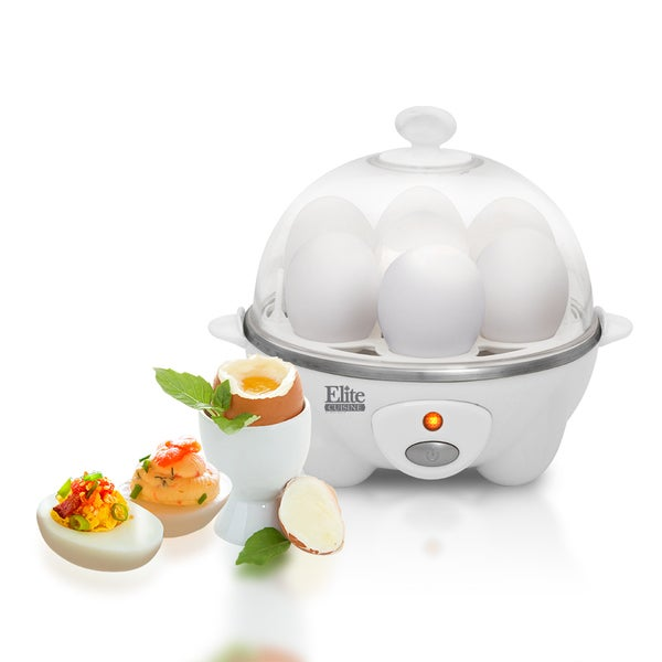 Shop Maxi Matic Elite Cuisine Egc 007 White Egg Cooker Free