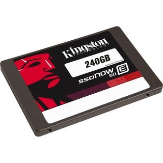 "Kingston SSDNow E50 240 GB 2.5"" Internal Solid State Drive"
