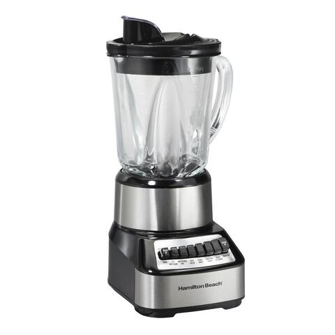 Hamilton Beach Wave Crusher 14 Speed Glass Jar Blender
