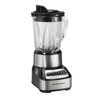 Hamilton Beach Stainless 14 Speed Glass Jar Blender