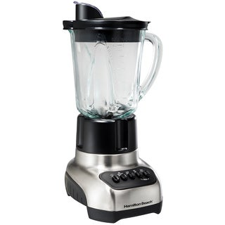 Hamilton Beach Stainless 12 Speed Glass Jar Blender