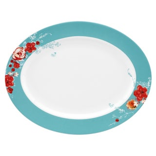 Lenox Chirp Floral 16-Inch Oval Platter