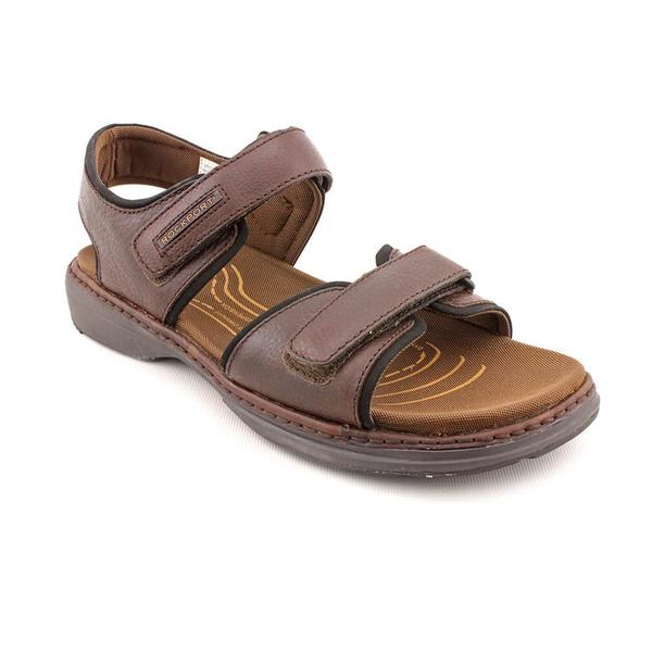 Rockport Men's 'Southern Adventure' Brown Leather Sandals