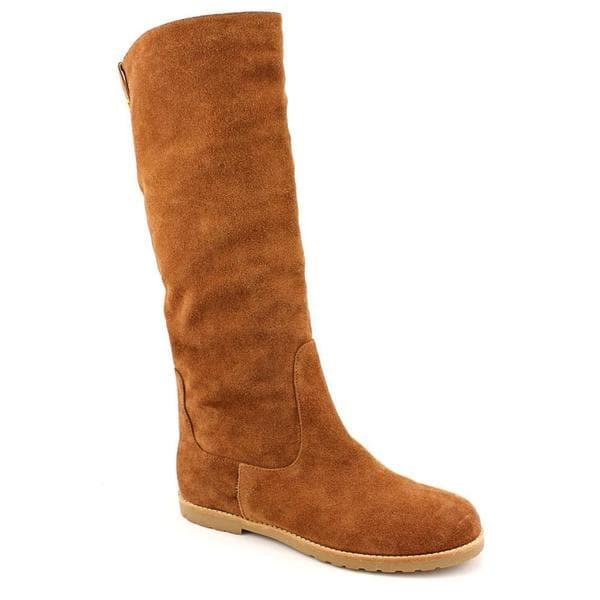 michael kors s kenton flat boot regular suede