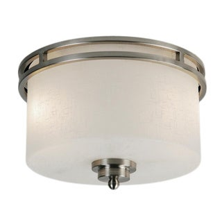 Cobalt 2-light Flush-mount Light Fixture