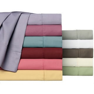 Easy Care Collection 500 Thread Count Cotton Blend Solid Sheet Set