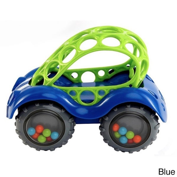 Rhino Toys Oball Rattle and Roll Toy Car
