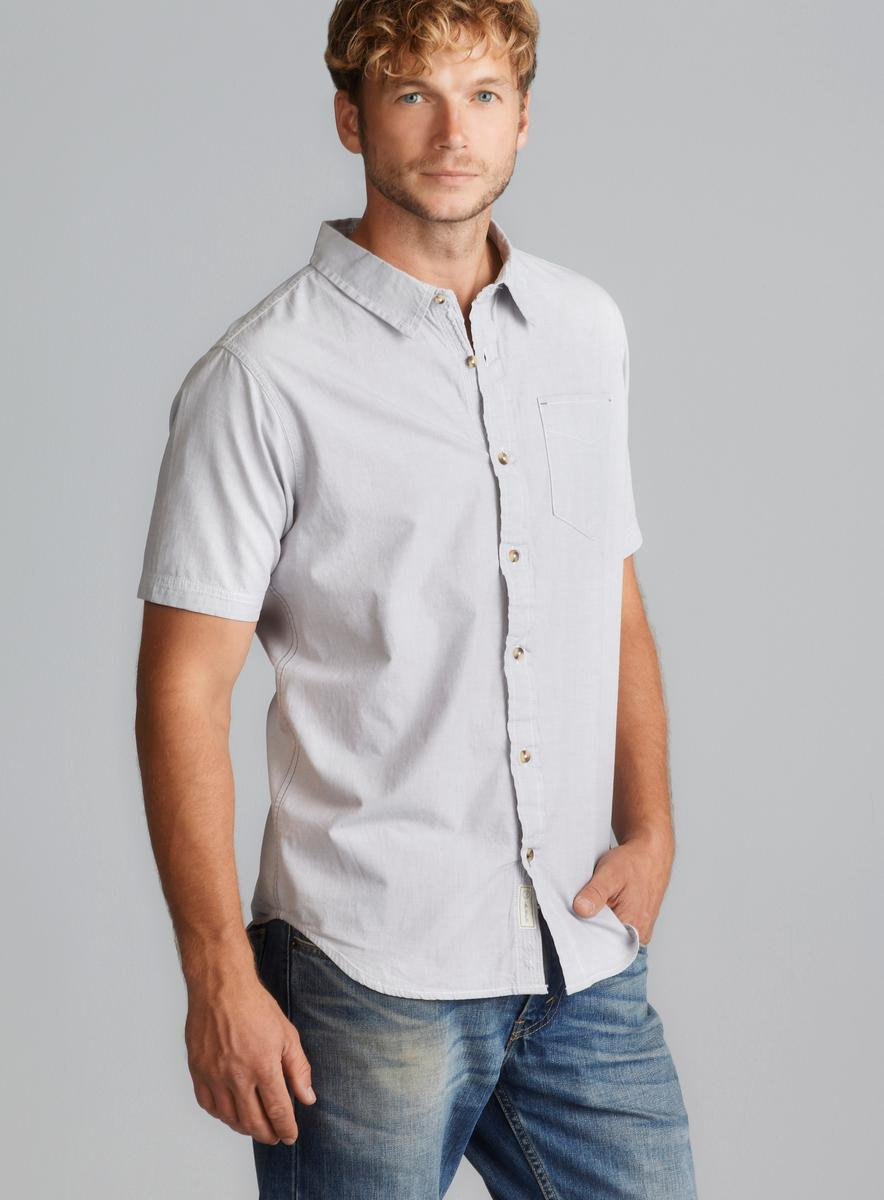 Nuco One Pocket Short Sleeve Button Down
