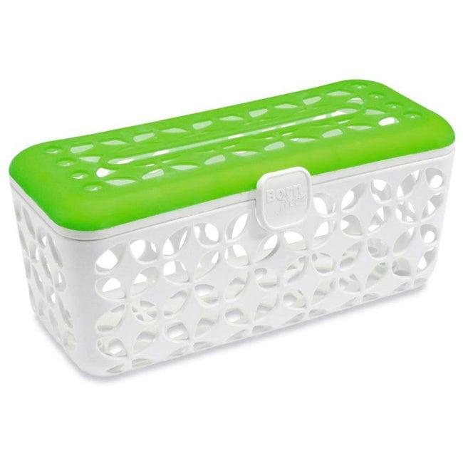 Born Free Quick Load Dishwasher Basket (White/green) (Pla...