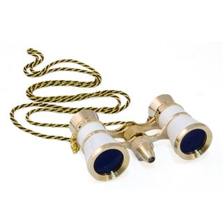 Levenhuk Broadway 325F White Opera Glasses - Clear