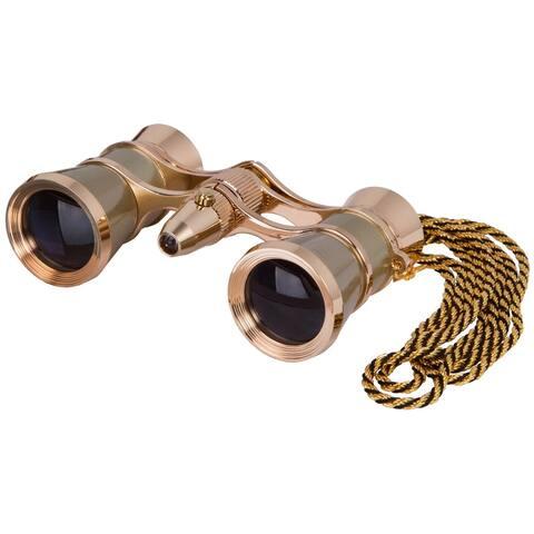 Levenhuk Broadway 325F Gold Opera Glasses
