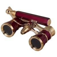 Levenhuk Broadway 325N Opera Glasses - Red