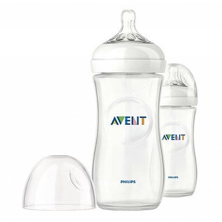 Philips AVENT Natural PP 11-ounce Baby Bottles (Pack of 2)