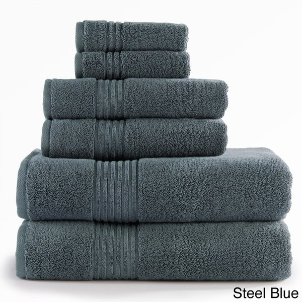 Opulence 750 GSM Turkish Cotton 6-piece Towel Set