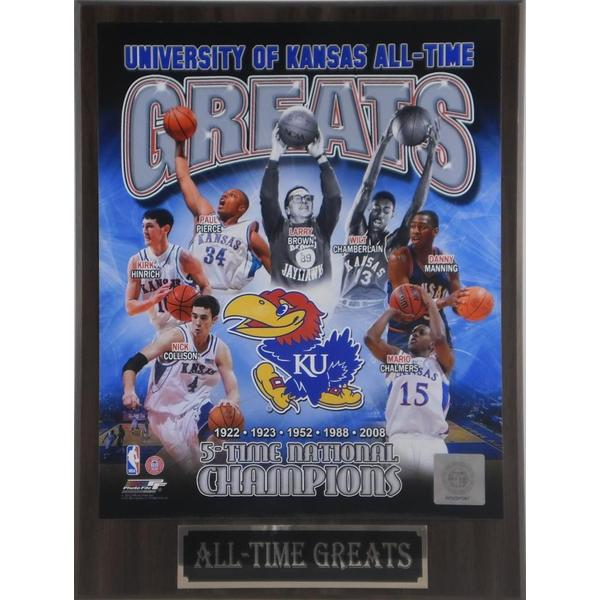 University of Kansas All Time Greats Plaque