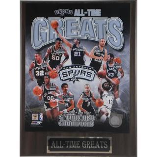San Antonio Spurs All Time Greats Plaque