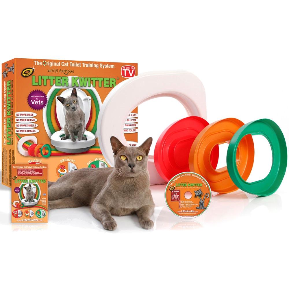 Litter Kwitter Cat Toilet Training System (LK1), Green