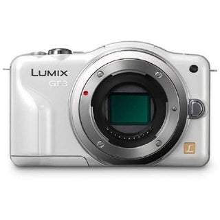Panasonic Lumix DMC-GF3 12.1MP White Digital Camera Body Only
