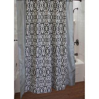 Sherry Kline Abingdon Shower Curtain with Hook Set