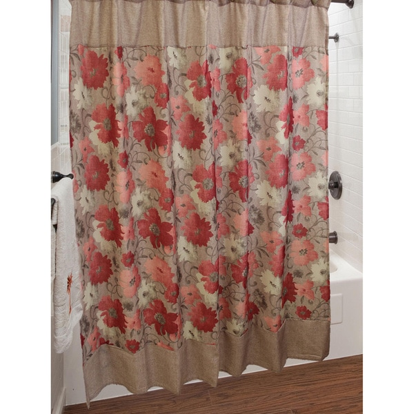 Sherry Kline Toulon Shower Curtain with Hook Set