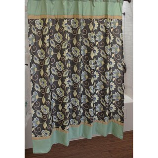 Sherry Kline Jacquelyn Shower Curtain with Hook Set