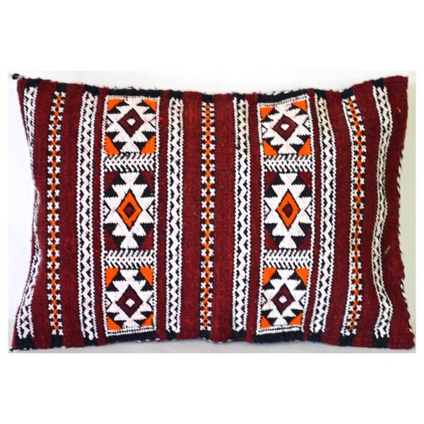 Berber Kilim Pillow Cover (Morocco)
