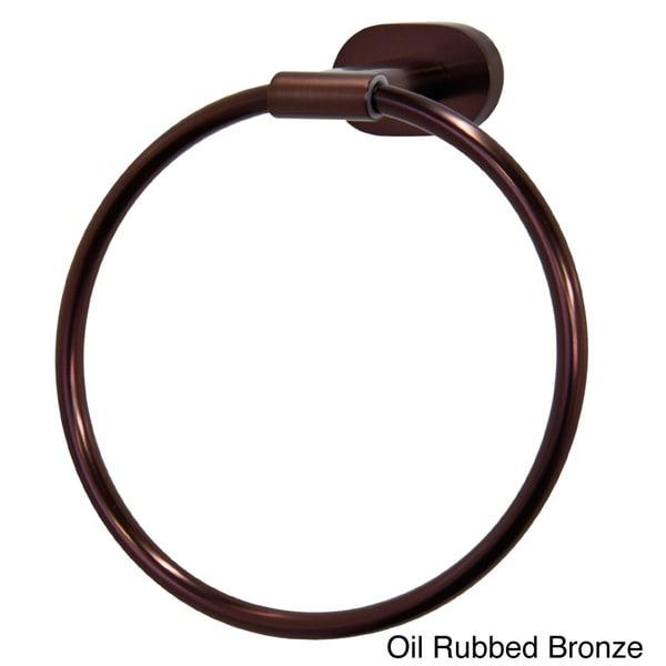 VIGO Ovando Round Design Hand Towel Ring