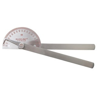 Baseline 180-degree Metal Goniometer with 8-inch Legs