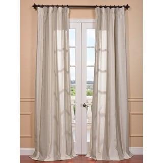 Exclusive Fabrics Del Mar Stone Linen Blend Curtain Panel