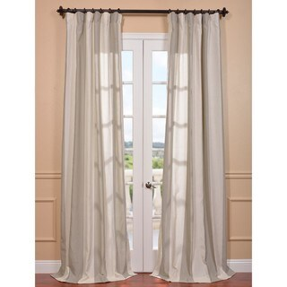 Exclusive Fabrics Del Mar Stone Linen Blend Curtain Panel (4 options available)