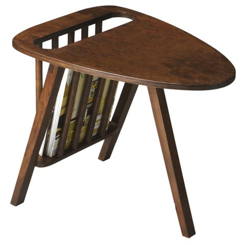 Handmade Mid-Century Modern Magazine Table (India)