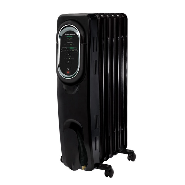 Honeywell HZ-789 Black EnergySmart Electric Radiator Heater