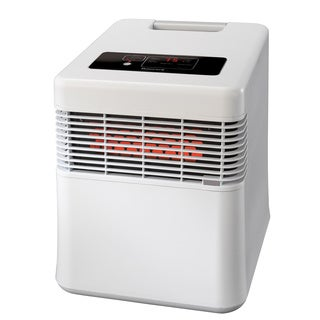 Honeywell HZ-960 White Digital Infrared Heater with Quartz Heat Technology