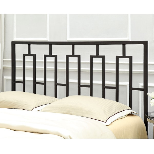 Porch & Den Lochwood Duxbury Satin Black Full/ Queen Headboard ...