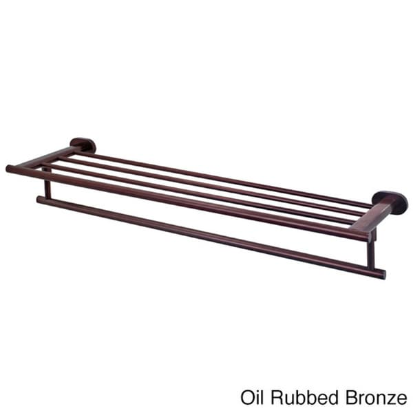 Vigo Ovando Hotel Style Rack And Towel Bar In Oil Rubbed Bronze