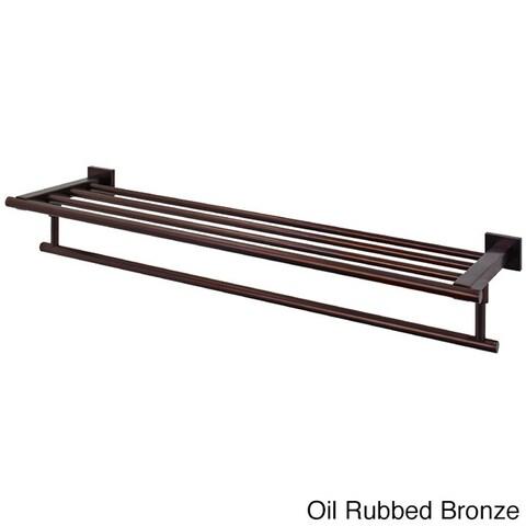 VIGO Allure Hotel-Style Rack and Towel Bar in Oil Rubbed Bronze