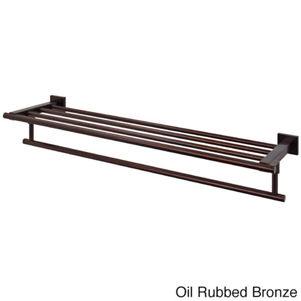 Vigo Allure Hotel Style Rack And Towel Bar In Oil Rubbed Bronze
