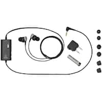 Audio-Technica ATH-ANC23BK QuietPoint® Active Noise-Cancelling In