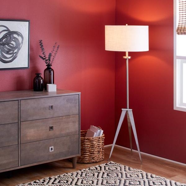 Caperana 1-light Steel Floor Lamp