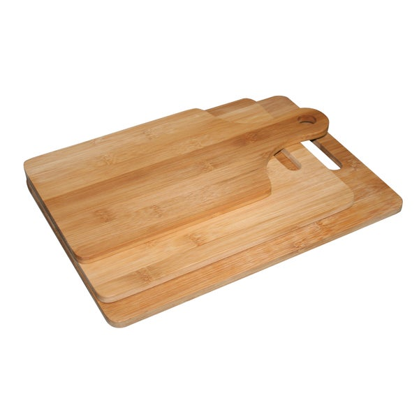 Set of 3 Bamboo Cutting Boards